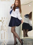 [4K-STAR] NO.00068 岩崎由衣性感制服黑丝写真