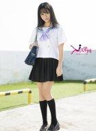 [尤果网] U142 Sora带来日系写真女校日志展露令人心跳好身材