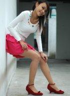 [Beautyleg腿模] No.051 娇媚腿模小�W户外性感丝袜美腿写真