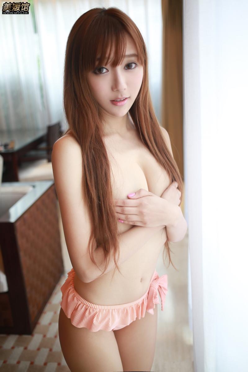 [美媛馆]旧刊-NO.050-王馨瑶户外香艳写真大秀美丽迷人事业线