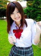 茜梓(茜あずさ)学生制服写真甜美可爱勾人心弦