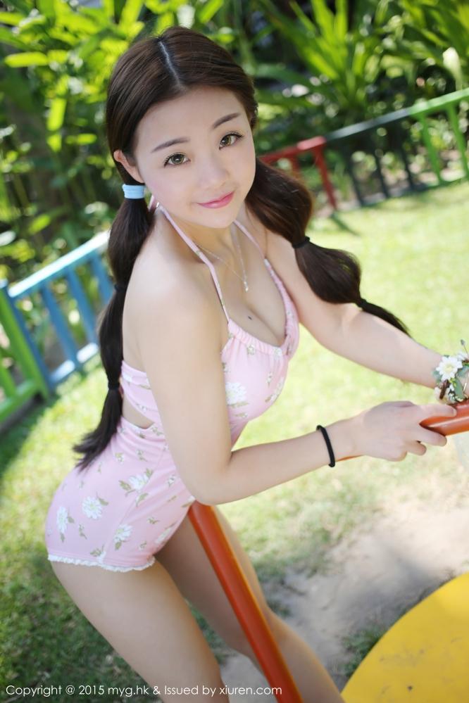 [美媛馆] Vol.149 佘贝拉比基尼写真 充分展现了童颜巨乳的魅力