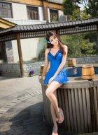 [魅妍社] VOL.169 美女小蕾蕾旅拍写真 景美人更美