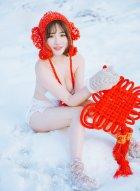 软妹子徐cake雪地拍摄唯美写真娇嫩玉肤比白雪还要白皙耀眼