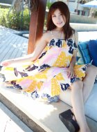 养眼女神许诺Sabrina小清新模样与巴厘岛美景完美契合