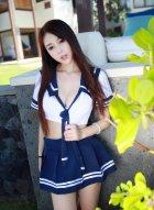 女神赵小米kitty唯美制服写真 不仅长相绝美身材也是无可挑剔