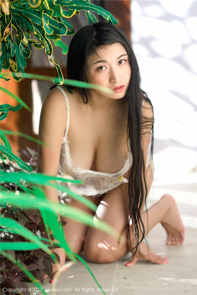美女嫩模盼盼玉奴内衣写真 纯天然美巨乳好大让人难以抗拒