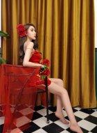 美女嫩模伍月yuer写真展露性感身材 更有一种独特的艺术之美