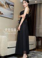 高挑长腿美女模特颖儿生活照美极了 是天生的衣架子